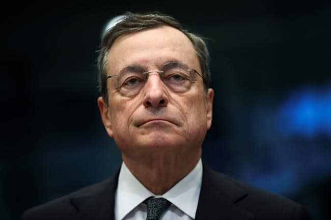 European Central Bank hints at stimulus  -  drawing Trump ire