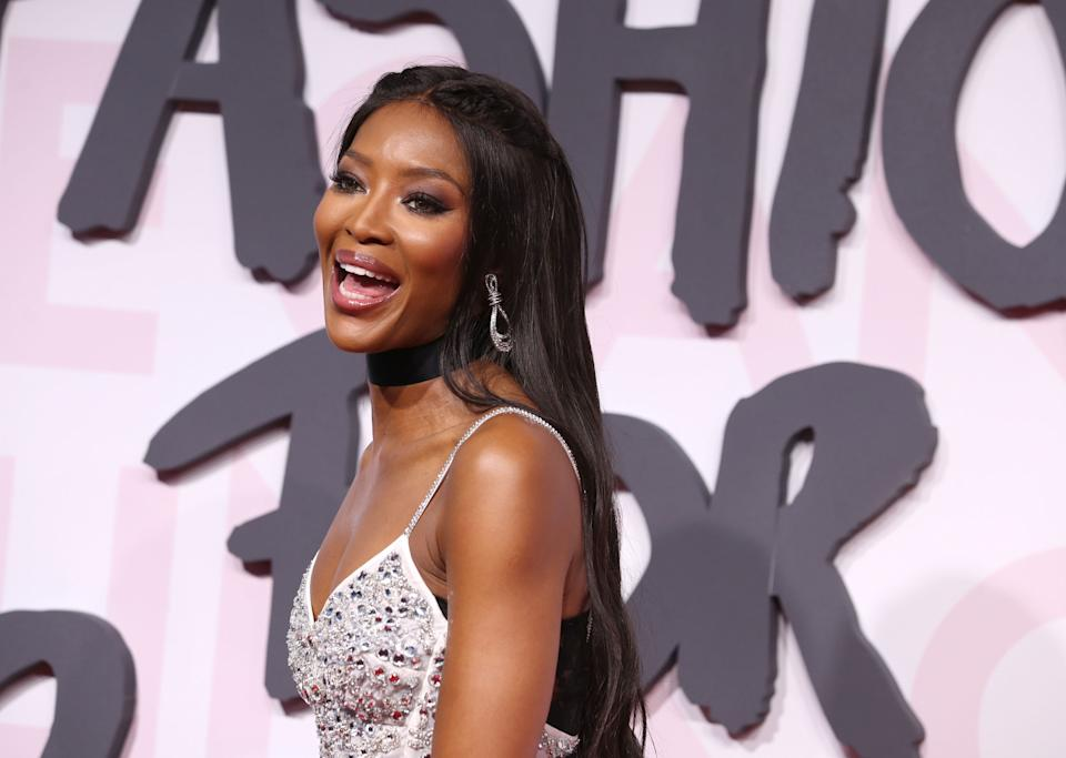 CANNES, FRANCE - MAY 13:  Naomi Campbell attends Fashion For Relief Cannes 2018 during the 71st annual Cannes Film Festival at Aeroport Cannes Mandelieu on May 13, 2018 in Cannes, France.  (Photo by Mike Marsland/Mike Marsland/WireImage)