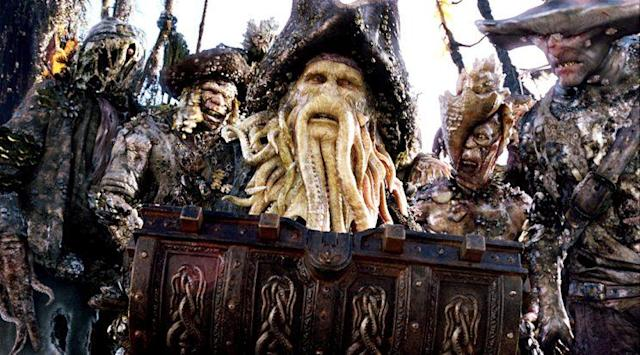 Bill Nighy in 'Pirates of the Caribbean: Dead Man's Chest' (Photo: Everett) <br>