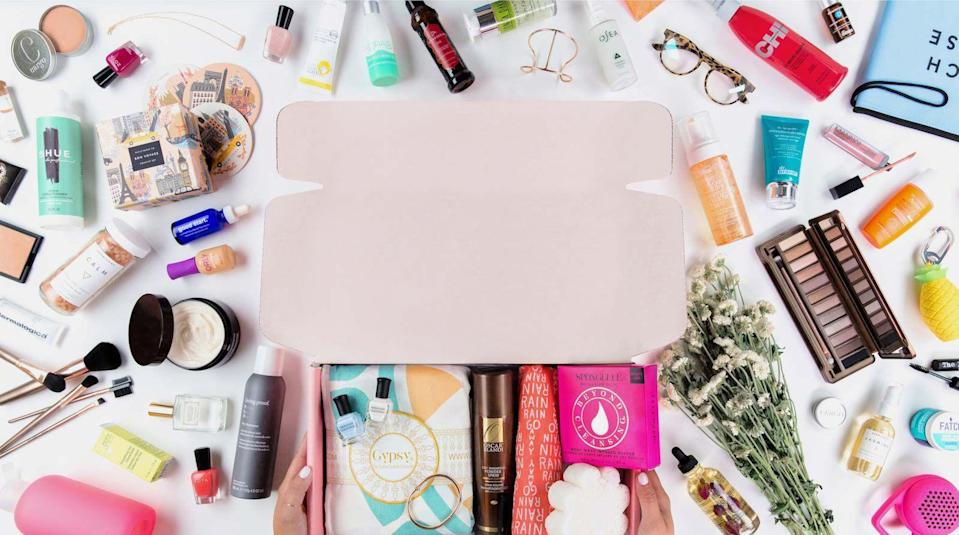 """<p>fabfitfun.com</p><p><strong>$50.00</strong></p><p><a href=""""https://go.redirectingat.com?id=74968X1596630&url=https%3A%2F%2Ffabfitfun.com%2Fget-the-box%2F%23plan%3Dfffvip&sref=https%3A%2F%2Fwww.goodhousekeeping.com%2Fholidays%2Fgift-ideas%2Fg1405%2Fgifts-for-her%2F"""" rel=""""nofollow noopener"""" target=""""_blank"""" data-ylk=""""slk:Shop Now"""" class=""""link rapid-noclick-resp"""">Shop Now</a></p><p>If you're not sure what to get, a monthly subscription box will cover all the bases. With FabFitFun, every season she'll get a box of the latest beauty, wellness, and home products delivered straight to her door. The best part: She can customize her selections before the shipment goes out or keep it a surprise! </p><p><strong>RELATED:</strong> <a href=""""https://www.goodhousekeeping.com/beauty/g5005/makeup-subscription-boxes/"""" rel=""""nofollow noopener"""" target=""""_blank"""" data-ylk=""""slk:Best Makeup Subscription Boxes to Check Out This Year"""" class=""""link rapid-noclick-resp"""">Best Makeup Subscription Boxes to Check Out This Year</a></p>"""