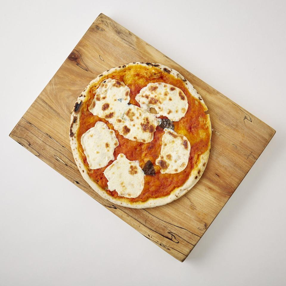 """<p><strong>Roberta's Pizza</strong></p><p>huckberry.com</p><p><strong>$149.00</strong></p><p><a href=""""https://go.redirectingat.com?id=74968X1596630&url=https%3A%2F%2Fhuckberry.com%2Fstore%2Froberta-s-pizza%2Fcategory%2Fp%2F67846-wood-fired-margherita-10-pack&sref=https%3A%2F%2Fwww.esquire.com%2Flifestyle%2Fg30645451%2Ffirst-valentines-day-gift-ideas%2F"""" rel=""""nofollow noopener"""" target=""""_blank"""" data-ylk=""""slk:Buy"""" class=""""link rapid-noclick-resp"""">Buy</a></p><p>Roberta's pizza alone is worth a trip to New York City. But now, the beloved Brooklyn pizzeria is packaging up its pies so they can be shipped nationwide. Ten ought to last your partner, oh, about a week; they're that good.</p>"""