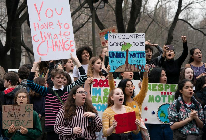 On Wednesday, the 16-year-old Swedish climate activistwas nominated for a Nobel Peace Prize.Friday, her