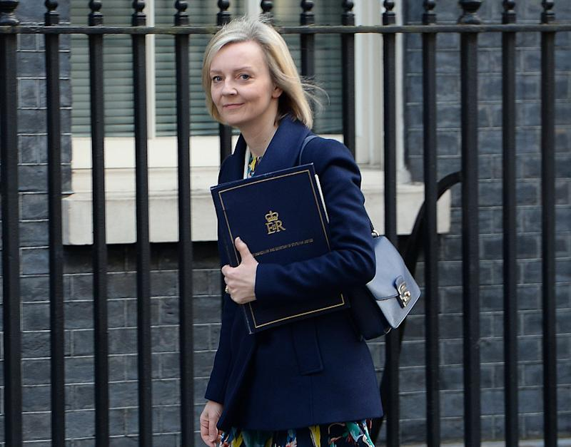'We must ensure that foreign criminals and failed asylum seekers are not exploiting the justice system,' Ms Truss said: PA