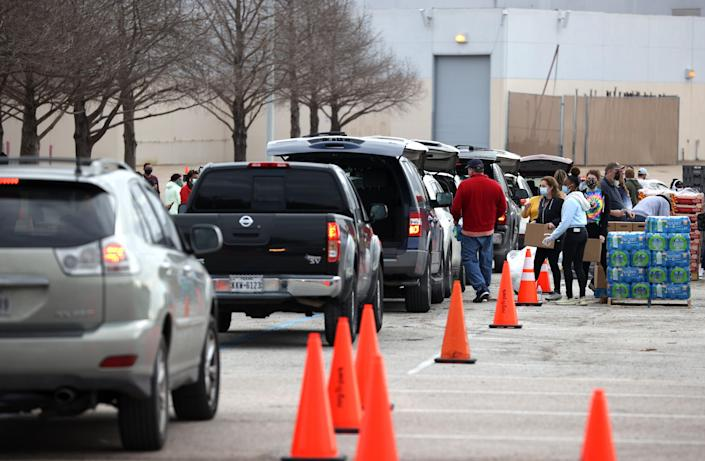 <p>Biden to visit Texas as thousands struggle  to return to normal in wake of power blackouts</p> (Photo by Justin Sullivan/Getty Images)