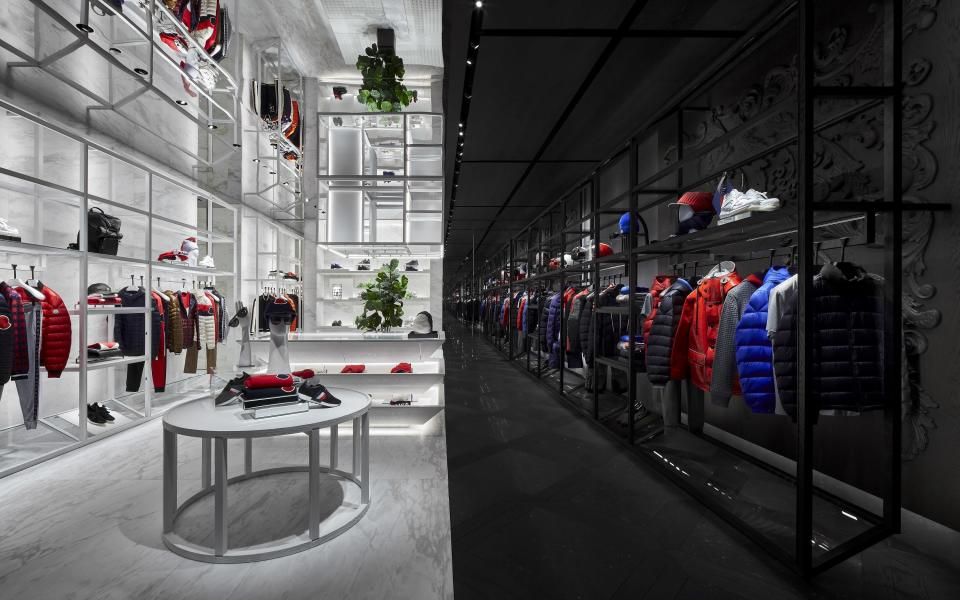 The interior of the store. (PHOTO: Moncler)