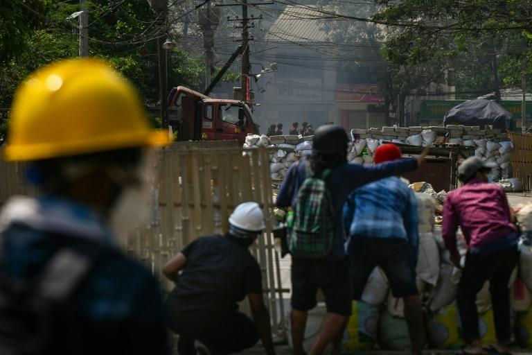 There has been a huge uprising in Myanmar against the military coup