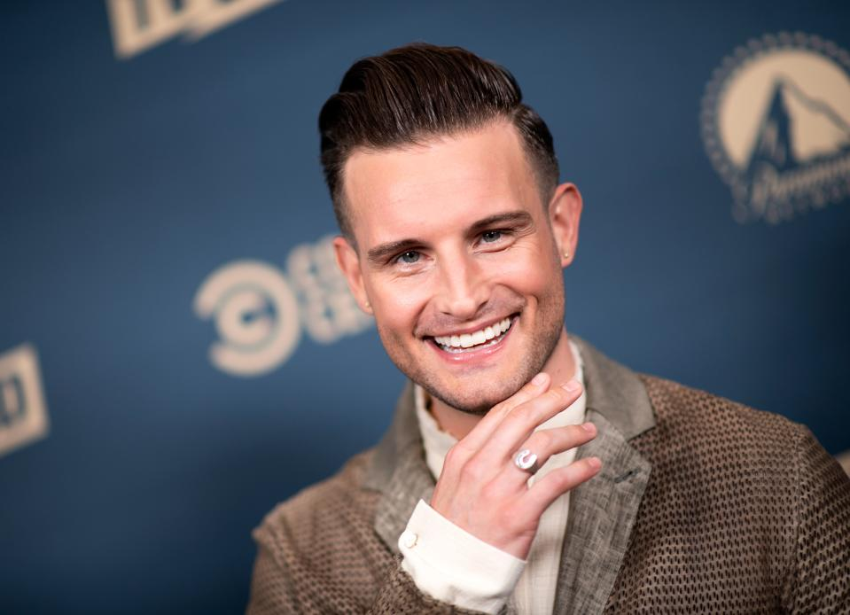 US actor Nico Tortorella attends the first Comedy Central, Paramount Network and TV Land Press Day, on May 30, 2019 in Los Angeles, California. (Photo by VALERIE MACON / AFP)        (Photo credit should read VALERIE MACON/AFP via Getty Images)