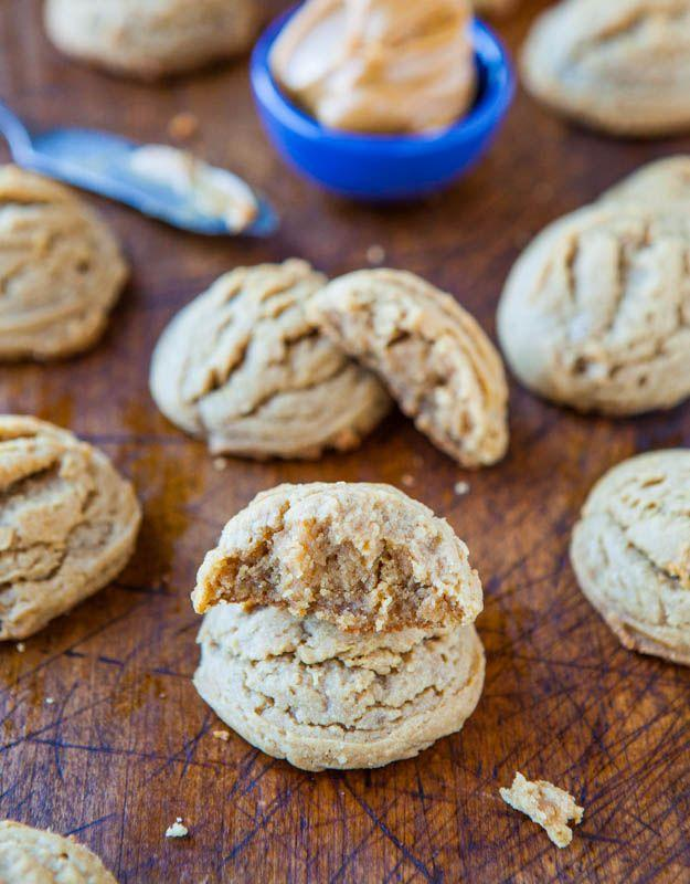 """<p>They're so soft and puffy!</p><p>Get the recipe from <a href=""""http://www.averiecooks.com/2013/03/soft-and-puffy-peanut-butter-coconut-oil-cookies.html"""" rel=""""nofollow noopener"""" target=""""_blank"""" data-ylk=""""slk:Averie Cooks"""" class=""""link rapid-noclick-resp"""">Averie Cooks</a>.</p>"""