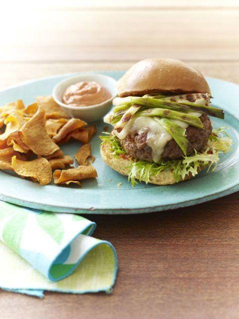 "<p>Mix your ground pork with chorizo for an incredibly flavorful burger that you'll want to make week after week. </p><p><em><a href=""https://www.womansday.com/food-recipes/food-drinks/recipes/a37159/pork-chorizo-burgers-recipe-rbk0811/"" rel=""nofollow noopener"" target=""_blank"" data-ylk=""slk:Get the Pork and Chorizo Burgers recipe."" class=""link rapid-noclick-resp""><strong>Get the Pork and Chorizo Burgers recipe.</strong></a></em></p>"