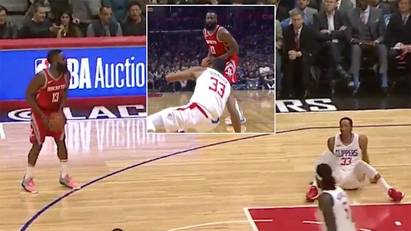 Harden responds to NBA act of ultimate disrespect