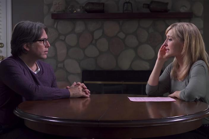 "<div class=""inline-image__caption""><p>Keith Raniere and Allison Mack in a NXIVM promotional video </p></div> <div class=""inline-image__credit"">YouTube</div>"
