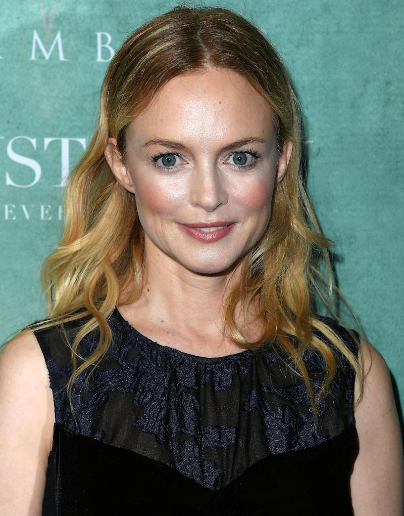 Heather Graham pictured in 2018 youthful looks