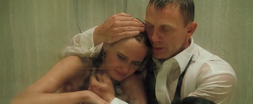 Dr Julian Oldmeadow links sitting in the shower with both cleansing the psych and gaining comfort. (Photo: MGM Pictures )