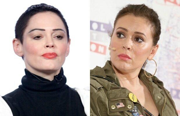 Alyssa Milano Counters Rose McGowan's 'F-ing Fraud' Accusation: 'Hurt People Hurt People'