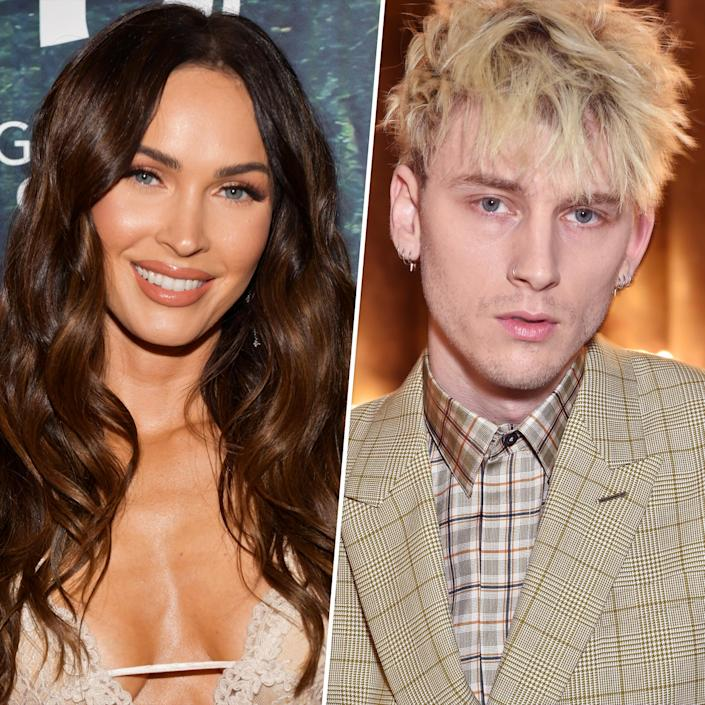 Megan Fox and Machine Gun Kelly are opening up about falling in love on the set of their upcoming movie,