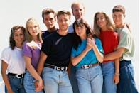 """<p>Luke Perry's character, Dylan McKay, wasn't supposed to be part of the core cast. The late actor once revealed to <em><a href=""""https://www.hollywoodreporter.com/features/aaron-spelling-ruled-television-an-823391"""" rel=""""nofollow noopener"""" target=""""_blank"""" data-ylk=""""slk:The Hollywood Reporter"""" class=""""link rapid-noclick-resp"""">The Hollywood Reporter</a></em> that he was only set to appear in a few episodes, but creator <a href=""""https://www.redbookmag.com/life/news/a47121/shannen-doherty-90210-reunion/"""" rel=""""nofollow noopener"""" target=""""_blank"""" data-ylk=""""slk:Aaron Spelling fought the studio"""" class=""""link rapid-noclick-resp"""">Aaron Spelling fought the studio</a> to keep him on. Perry also initially auditioned to play Steve Sanders (which went to Ian Ziering.) </p>"""
