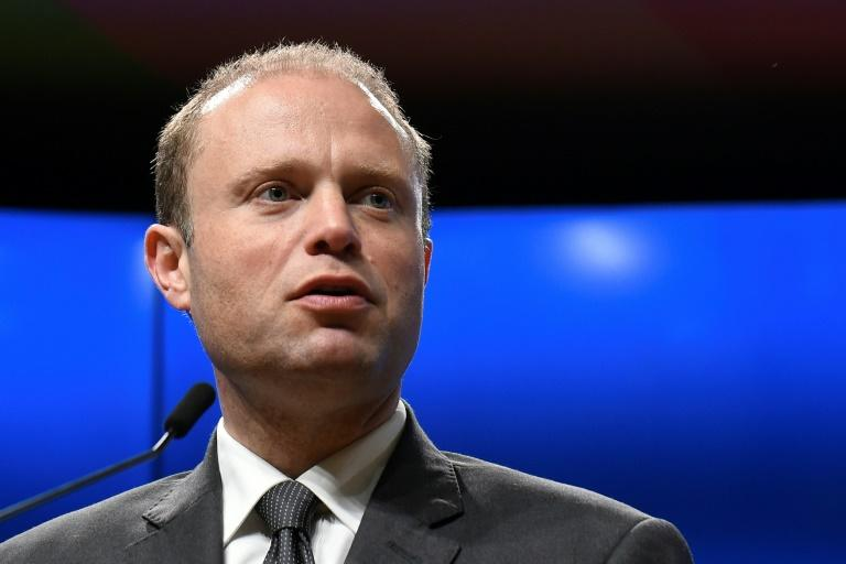 Maltese Prime Minister Joseph Muscat has been in power since 2013 (AFP Photo/JOHN THYS)