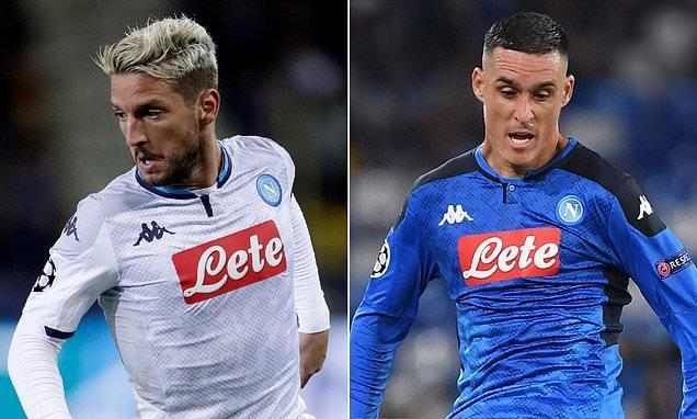 Napoli chairman warns Callejon and Mertens against leaving for China