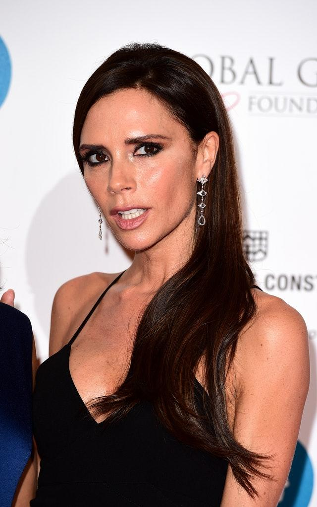 Victoria Beckham attending the Global Gift Gala London charity fundraiser at the Four Seasons Hotel, London