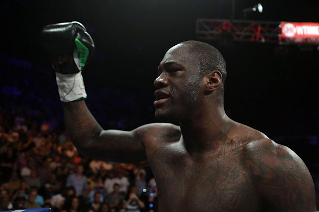 Deontay Wilder: 'Everyone has their opinion on who I should fight'