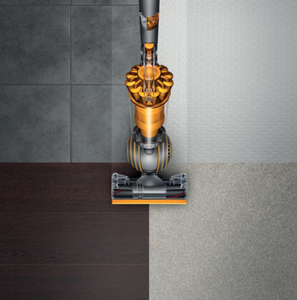 Dyson Ball Multi-Floor Bagless Vacuum in Yellow (Photo via Best Buy)