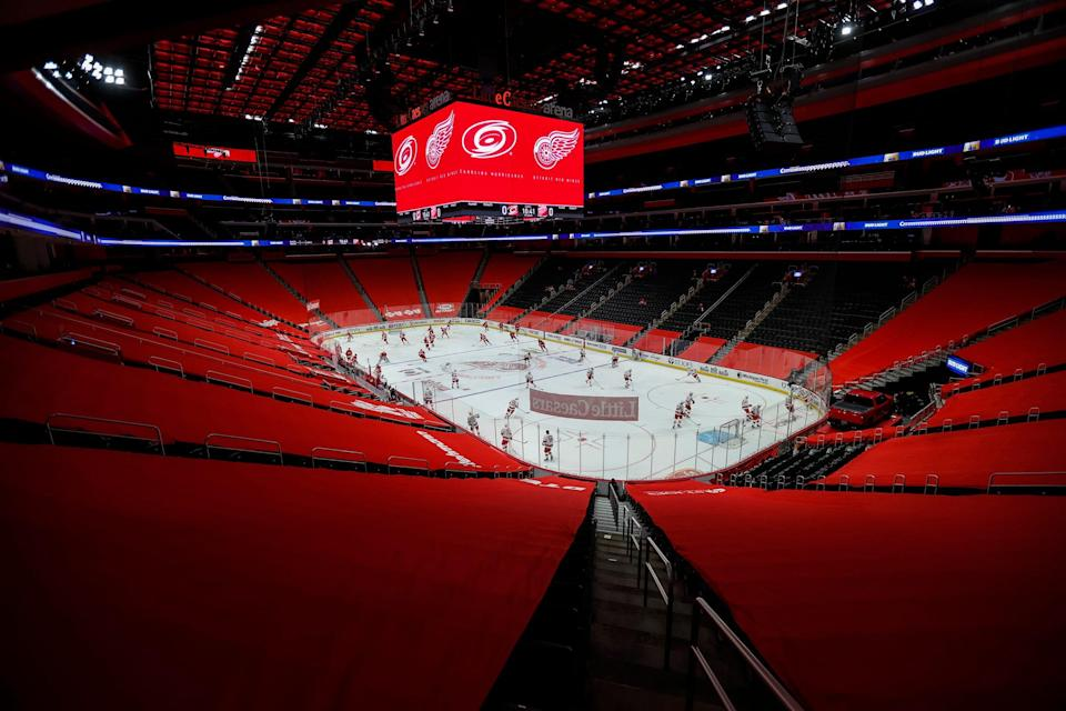 After starting last season with no fans in the stands because of the pandemic, fans can fill the stands again when the Red Wings open the 2021-22 season.