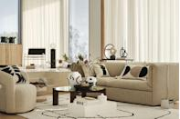 """<p>Drawing its inspiration from modern and artistic interiors, the new collection from H&M Home is packed with clean lines, soft shapes and bold prints. </p><p><a class=""""link rapid-noclick-resp"""" href=""""https://go.redirectingat.com?id=127X1599956&url=https%3A%2F%2Fwww2.hm.com%2Fen_gb%2Fhome.html&sref=https%3A%2F%2Fwww.housebeautiful.com%2Fuk%2Flifestyle%2Fshopping%2Fg35116386%2Fhandm-home-spring%2F"""" rel=""""nofollow noopener"""" target=""""_blank"""" data-ylk=""""slk:SHOP H&M HOME"""">SHOP H&M HOME</a> </p>"""