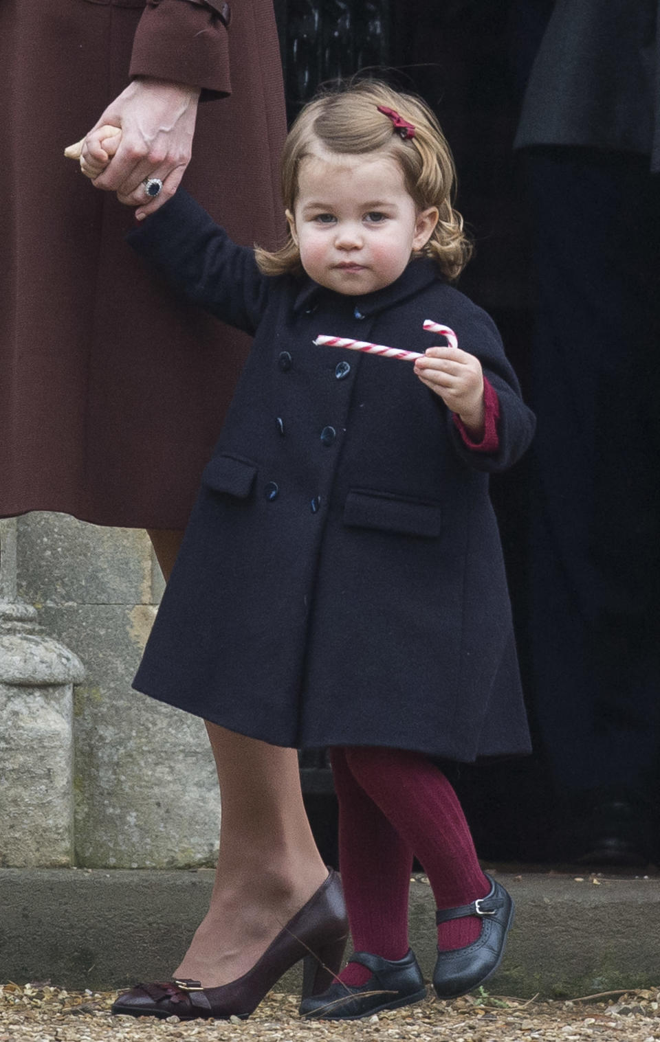 Princess Charlotte. Image via Getty Images.