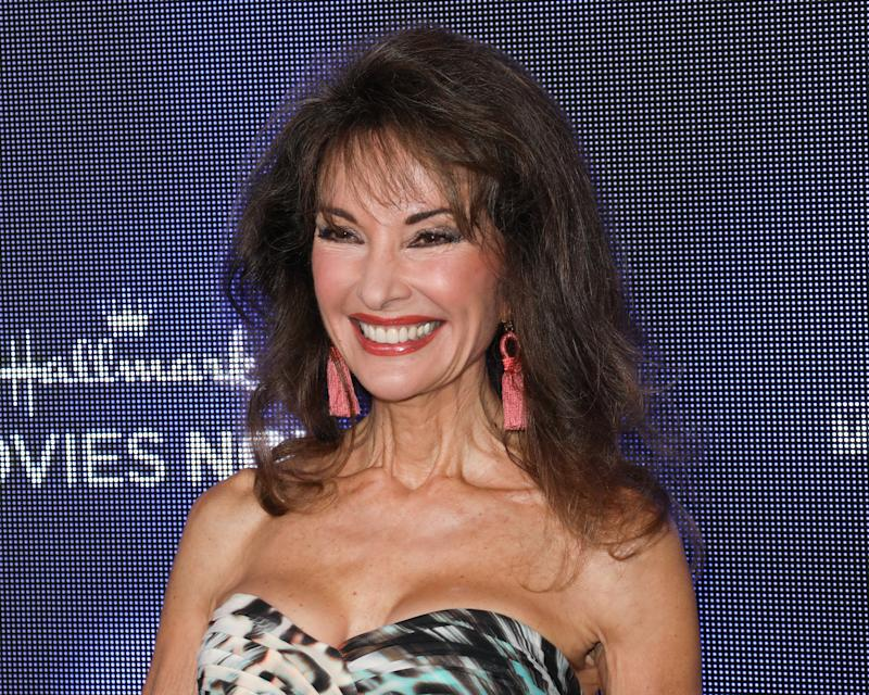 BEVERLY HILLS, CALIFORNIA - JULY 26: Actress Susan Lucci attends the Hallmark Channel and Hallmark Movies & Mysteries summer 2019 TCA press tour event at a Private Residence on July 26, 2019 in Beverly Hills, California. (Photo by Paul Archuleta/FilmMagic)