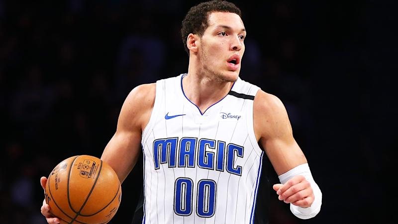 Orlando's Aaron Gordon, pictured playing against Brooklyn, has emerged as an excellent Fantasy asset.