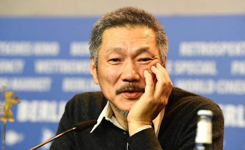 "South Korean director Hong Sang-Soo is bringing two films to Cannes, ""The Day After"" in the main competition with a special screening for ""Claire's Camera"" (AFP Photo/Tobias SCHWARZ)"