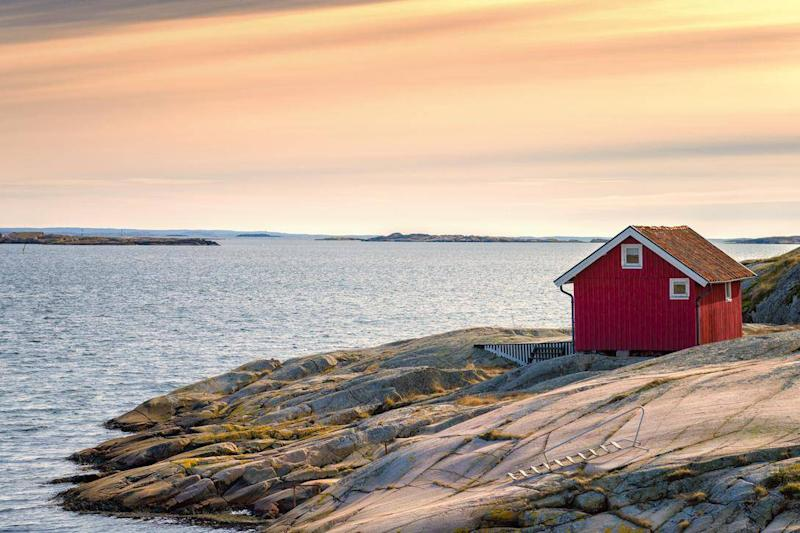 A cottage on Sweden's west coast (Getty/iStock)