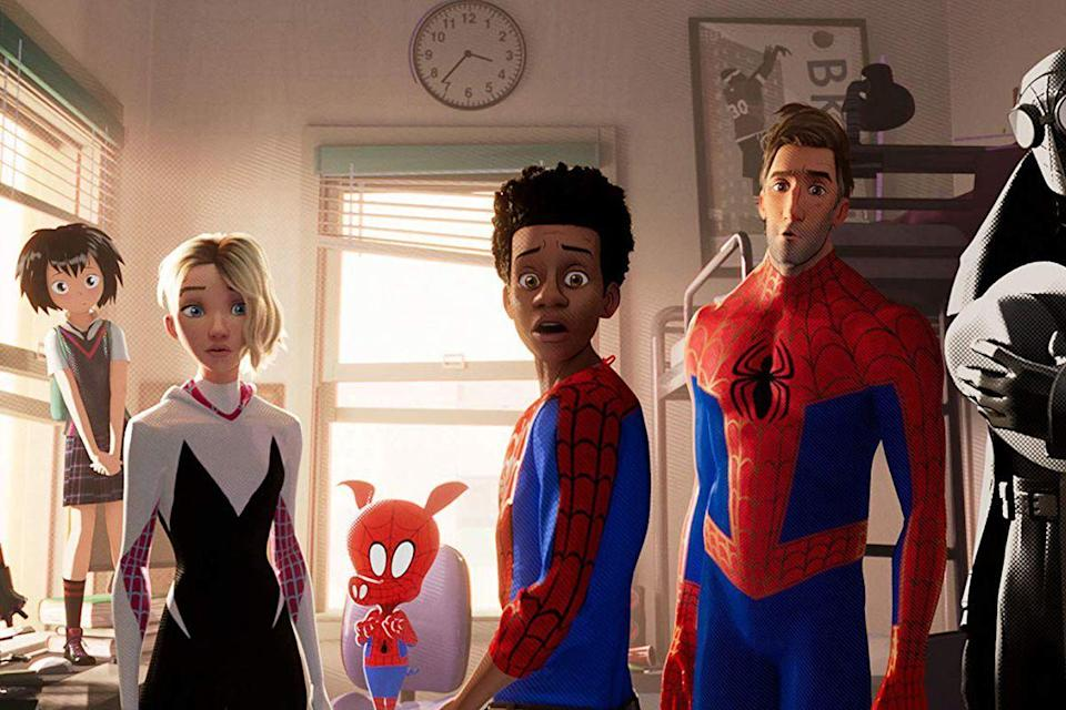 "<p>Yeah, it's hard to believe, but the best <em>Spider Man</em> movie in ages is an animated film, and it manages to breathe new life into a franchise that is already doing pretty dang well for itself.</p><p><a class=""link rapid-noclick-resp"" href=""https://www.netflix.com/title/81002747"" rel=""nofollow noopener"" target=""_blank"" data-ylk=""slk:Watch Now"">Watch Now</a><br></p>"