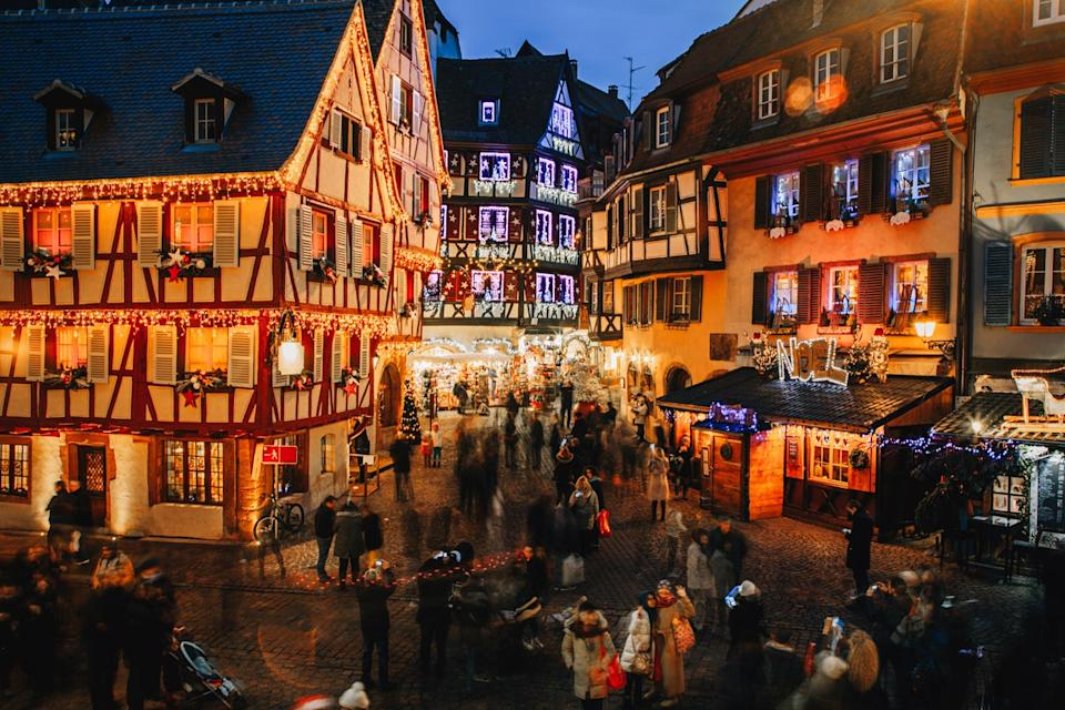 The city of Colmar, Alsace, is seen back in 2017Getty Images