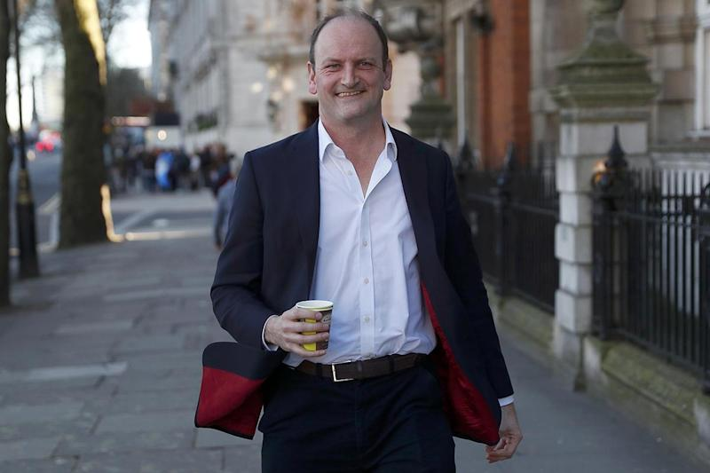 Douglas Carswell, shortly after announcing he was quitting Ukip: Reuters