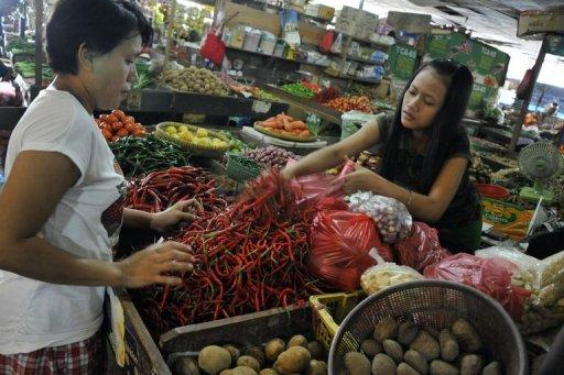Indonesia said inflation edged slightly higher in August as food prices rose during Eid al-Fitr celebrations