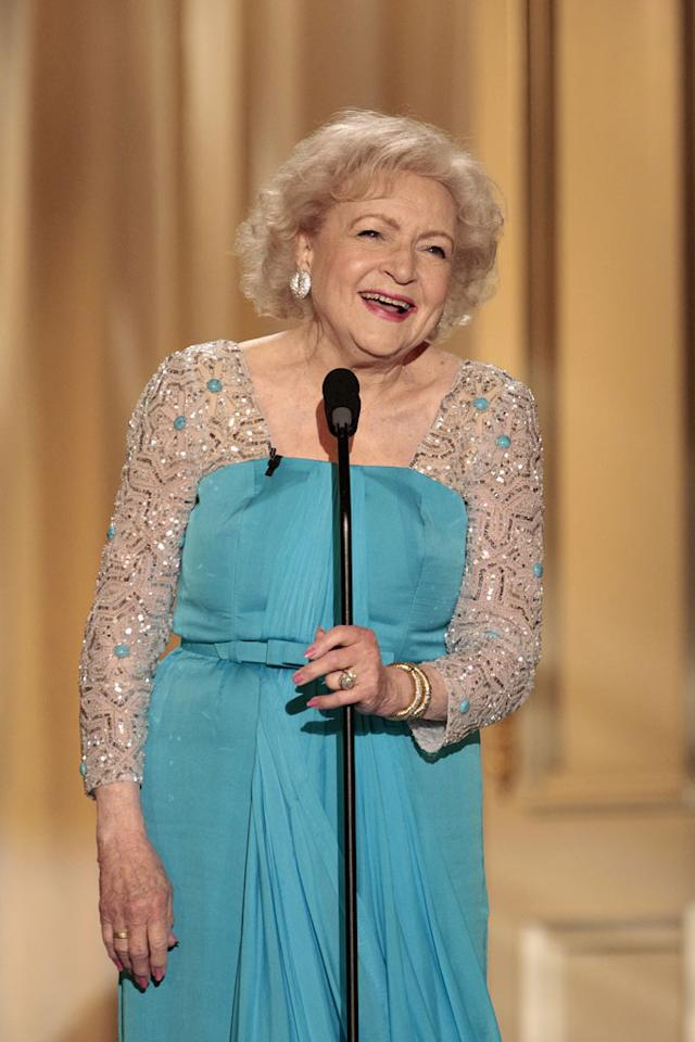 """Betty White on """"Betty White's 90th Birthday: A Tribute to America's Golden Girl"""""""