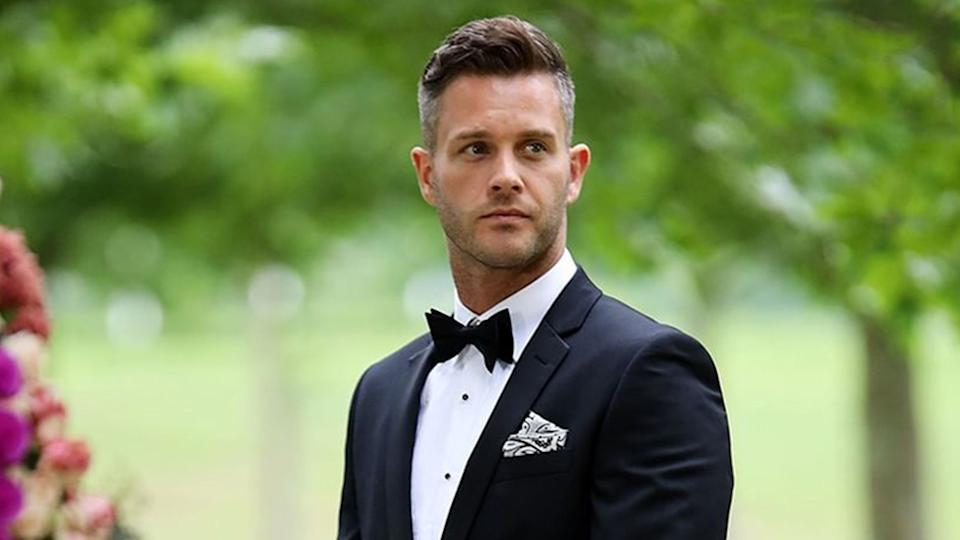 Married At First Sight's Jake at the final vows