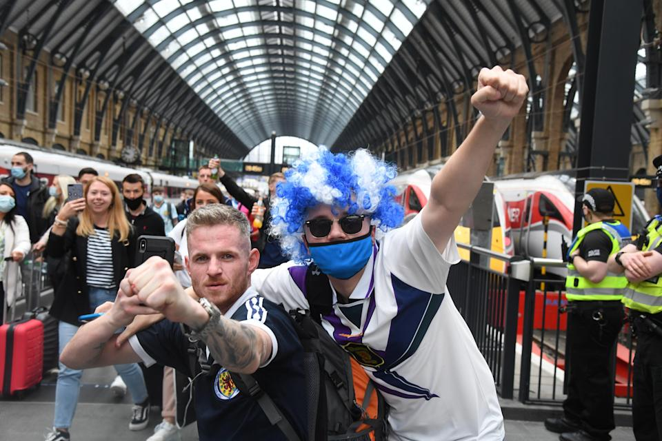 Scottish fans are all over London today (Jeremy Selwyn)