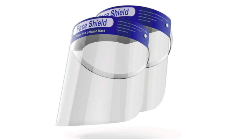 OMK Reusable Face Shields. (Photo: Amazon)