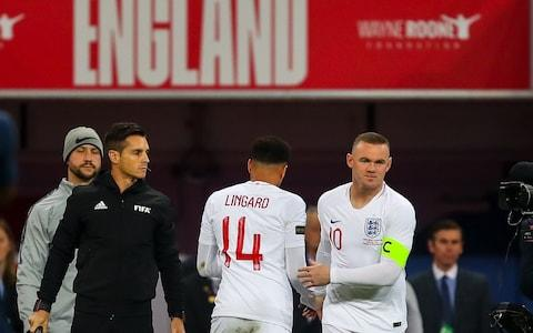 Wayne Rooney of England comes on as a substitute during the International Friendly match between England and United States - Credit: Robbie Jay Barratt - AMA/Getty Images