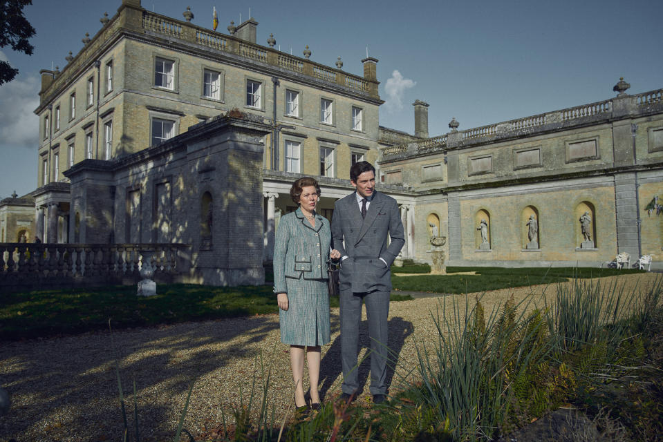 Somerley House acts as Highgrove in 'The Crown'. (Des Willie/Netflix)