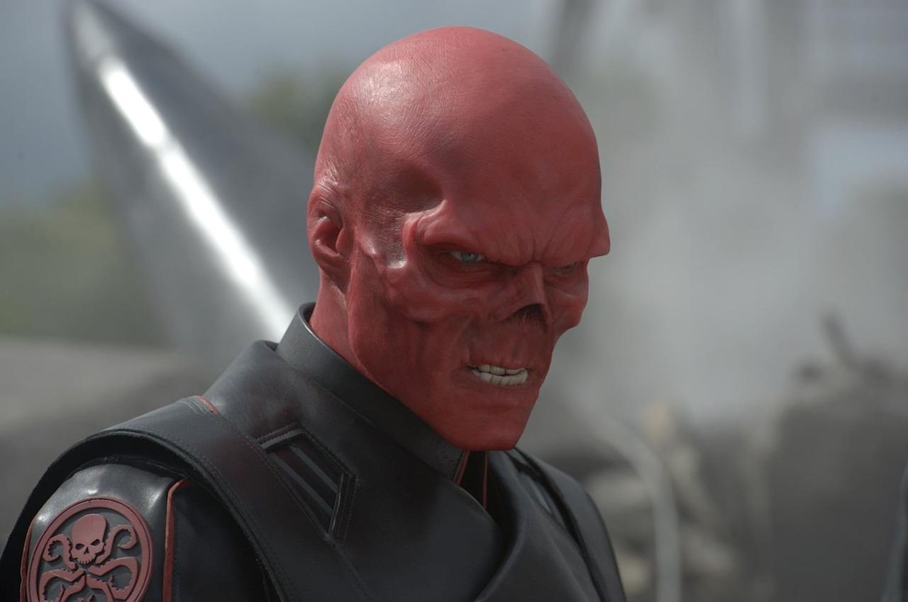 """<p>Just like in <strong>Infinity War</strong>, the Red Skull pops up on the planet Vormir in <strong>Endgame</strong>. The former leader of HYDRA, who is first seen in <strong>The First Avenger</strong>, was banished to Vormir to guard the Soul Stone after he tried to use the Tesseract. He explains the Soul Stone's rules to Thanos in <strong>Infinity War</strong> and he does the same <a href=""""https://www.popsugar.com/entertainment/How-Does-Natasha-Black-Widow-Die-Avengers-Endgame-46071443"""" >for Natasha and Clint</a> in <strong>Endgame</strong>.</p>"""