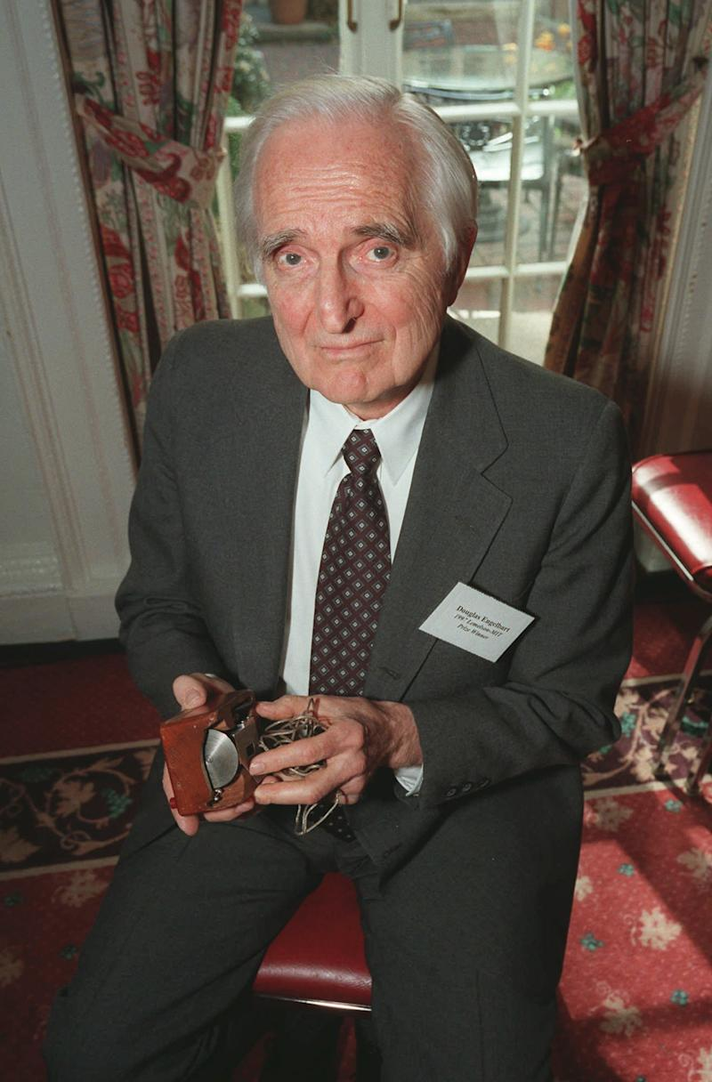 Engelbart, inventor of computer mouse, dies at 88