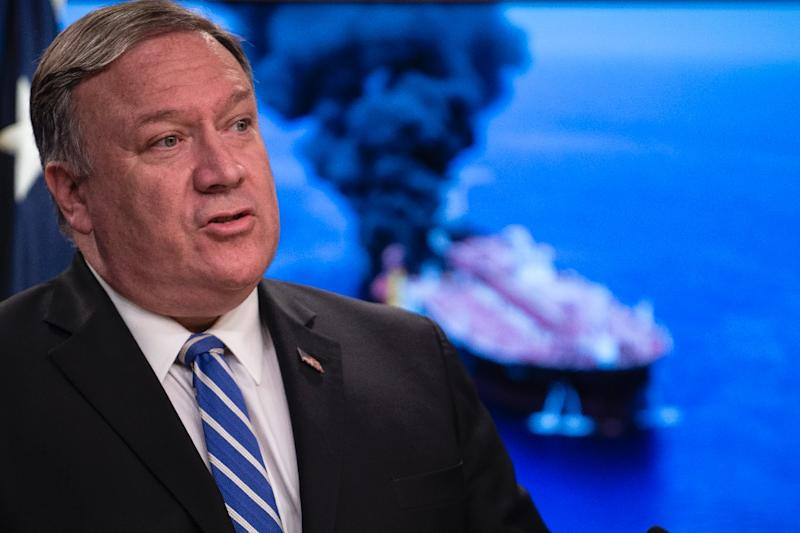 Secretary of State Mike Pompeo says the US will guarantee free passage through strategic Strait of Hormuz