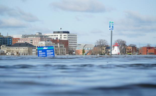 St. John River levels could reach last year's peak this weekend