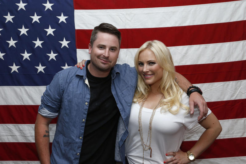 "This undated image released by Pivot shows siblings Jimmy McCain, left, and Meghan McCain from ""Raising McCain,"" a series following Meghan McCain, daughter of Sen. John McCain, premiering in September on Pivot. The 28-year-old author and blogger told the Television Critics Association on Friday, July 26, 2013, that the show lets her ""be crazy, be (herself) and talk about issues."" (AP Photo/Pivot, Jason DeCrow)"