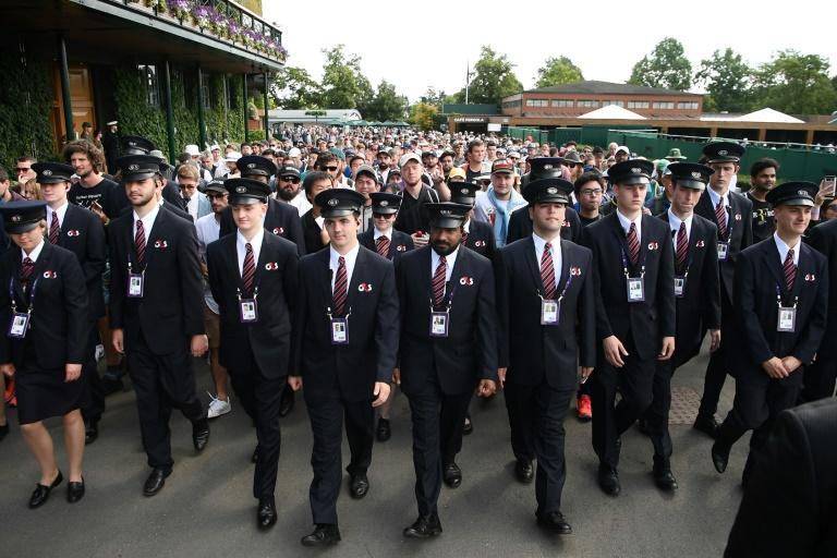 G4S also provids security at the Wimbledon tennis championships
