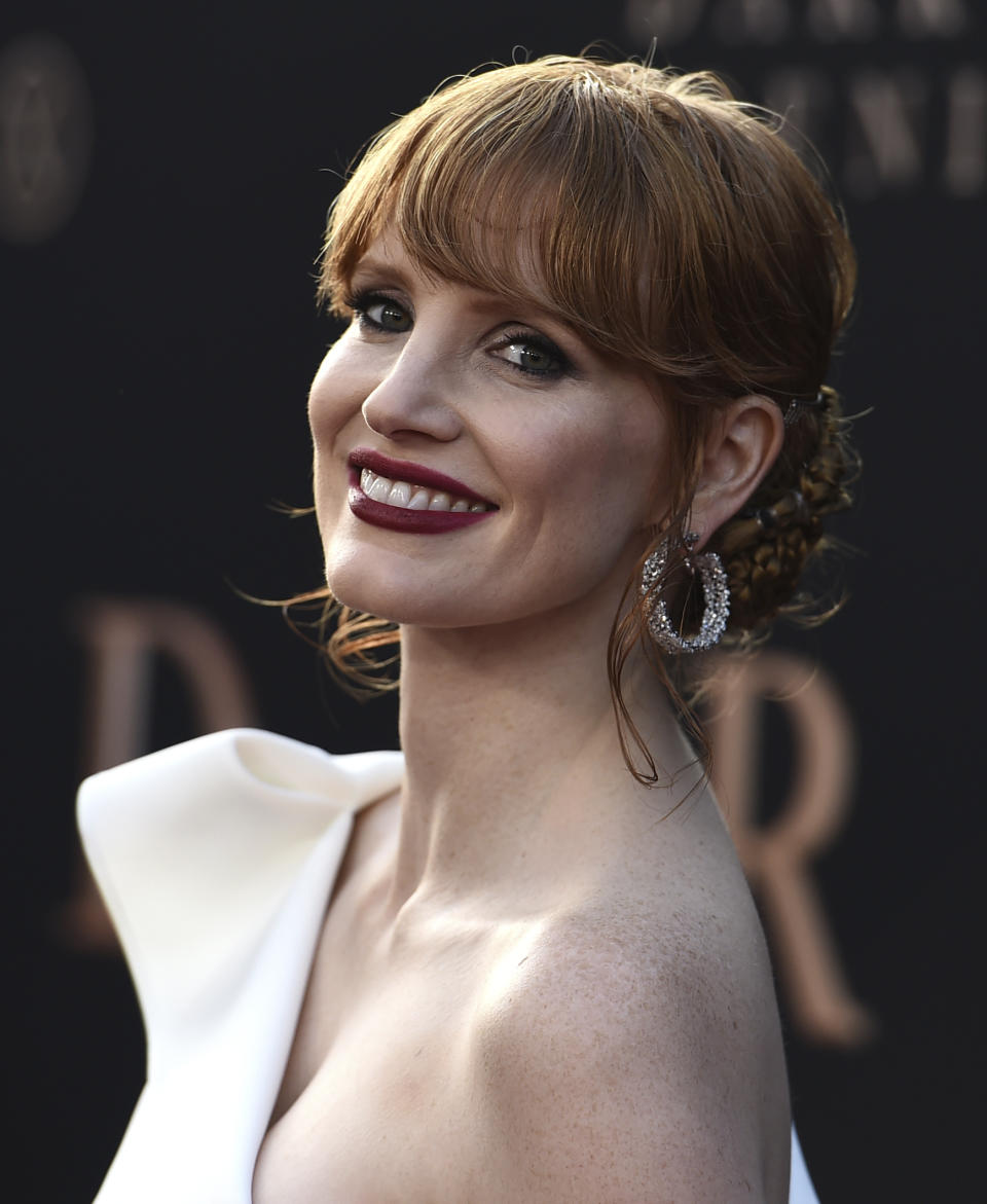 Jessica Chastain. (Photo by Jordan Strauss/Invision/AP)