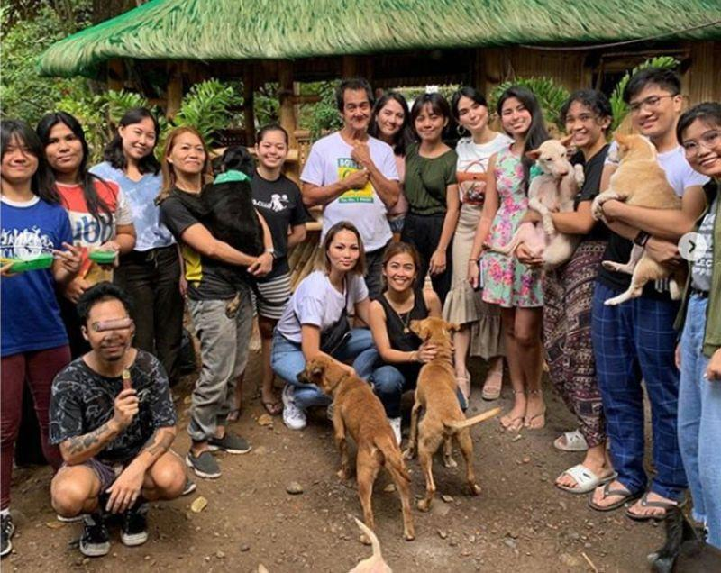 Heart Evangelista, animal group surprise man with new home